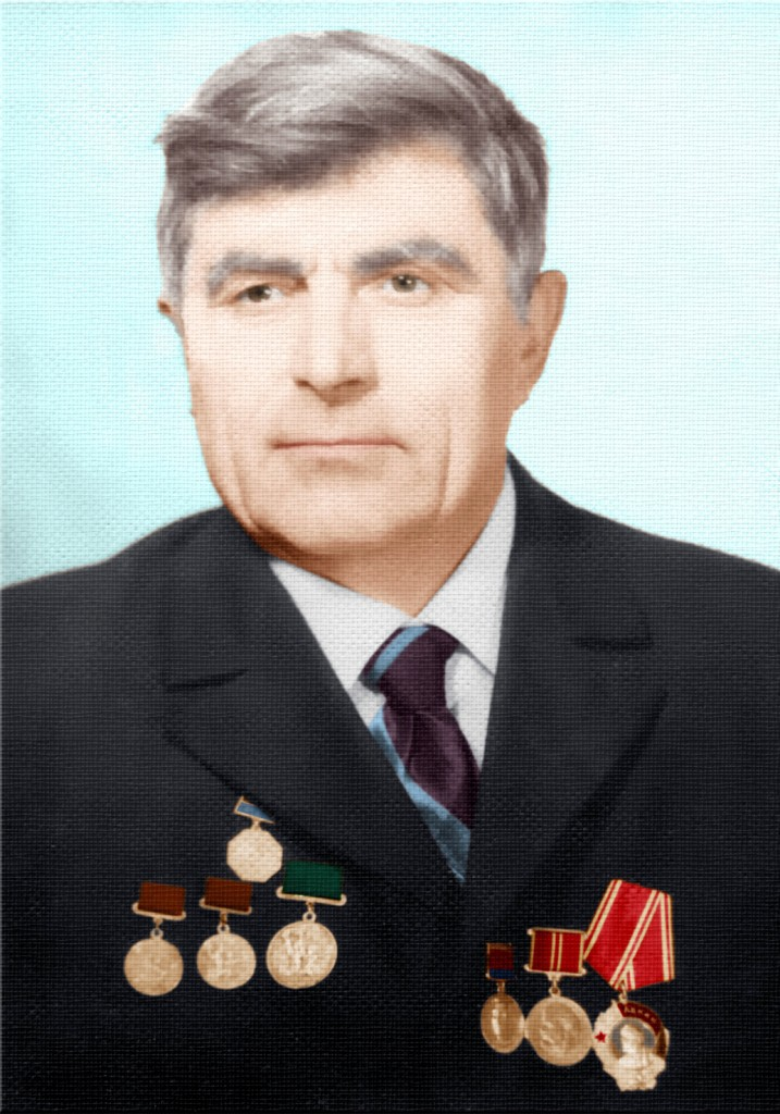 Портрет Ф.С.Бацури (27.01.15 р.)